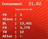 Domainbewertung - Domain www.myimg.de bei Domainwert24.net