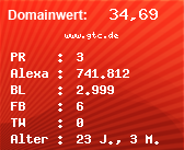 Domainbewertung - Domain www.gtc.de bei Domainwert24.net