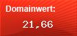 Domainbewertung - Domain www.med21.de bei Domainwert24.net