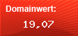 Domainbewertung - Domain www.fischer.de bei Domainwert24.net