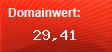 Domainbewertung - Domain www.hamburg.de bei Domainwert24.net