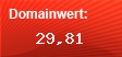 Domainbewertung - Domain www.20min.ch bei Domainwert24.net
