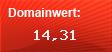 Domainbewertung - Domain www.pregas.de bei Domainwert24.net