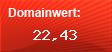 Domainbewertung - Domain www.reitturnier-news.de bei Domainwert24.net