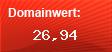 Domainbewertung - Domain www.berlin-aidshilfe.de bei Domainwert24.net
