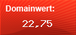 Domainbewertung - Domain www.amexio.de bei Domainwert24.net