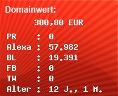 Domainbewertung - Domain www.megafun-radio.kilu.de bei Domainwert24.net