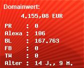 Domainbewertung - Domain www.sound-comet.com.com bei Domainwert24.net