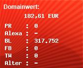 Domainbewertung - Domain www.n-tv.de bei Domainwert24.net