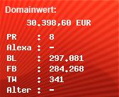 Domainbewertung - Domain nba.com bei Domainwert24.net