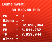Domainbewertung - Domain www.youtube.com bei Domainwert24.net