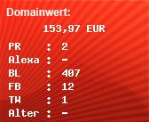 Domainbewertung - Domain www.skischule-steibis.de bei Domainwert24.net