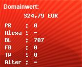 Domainbewertung - Domain expressrxdrugstore.com bei Domainwert24.net