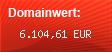 Domainbewertung - Domain www.speicherhosting.com bei Domainwert24.net