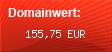 Domainbewertung - Domain www.mode-kosmetik-schmuck.de bei Domainwert24.net