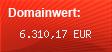 Domainbewertung - Domain deutschland.de bei Domainwert24.net