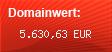 Domainbewertung - Domain www.web.de bei Domainwert24.net