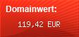Domainbewertung - Domain www.feuerwehrversand.net bei Domainwert24.net