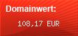 Domainbewertung - Domain www.webdom.ch bei Domainwert24.net