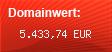 Domainbewertung - Domain www.studivz.net bei Domainwert24.net