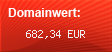 Domainbewertung - Domain amazon.com bei Domainwert24.net