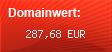 Domainbewertung - Domain www.wordpress-webhosting.de bei Domainwert24.net