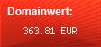 Domainbewertung - Domain www.rk-hosting.de bei Domainwert24.net